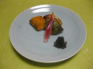 焼き物:甘鯛三色焼き