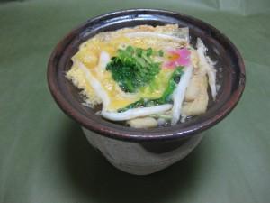 煮物:白魚と若筍の柳川風