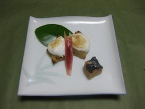 焼物:甘鯛の白酒焼き