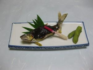焼き物:鮎田楽焼き