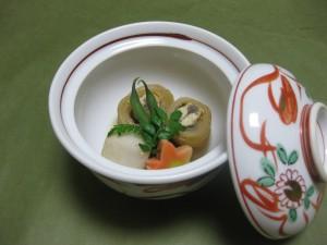 煮物:鮎養老煮