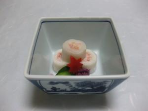 酢物:蟹奉書巻き