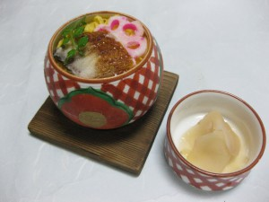 御飯:蒸し寿司