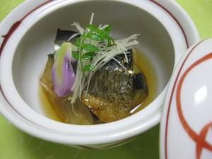 煮物:賀茂茄子と鰊の旨煮