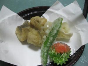 揚物:甘鯛から揚げ