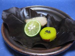 焼物:鰆柚庵焼き