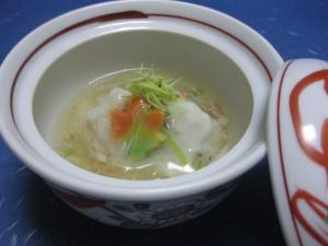 煮物:甘鯛蕪蒸し銀餡掛け