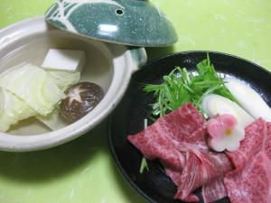 煮物:和牛しゃぶしゃぶ鍋