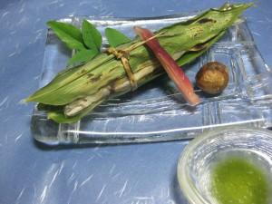 焼物:鮎笹焼き